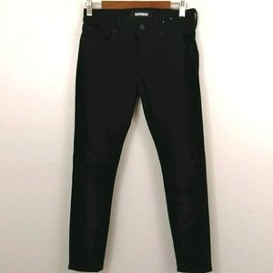 Express Mid Rise Stretch Legging Jeans